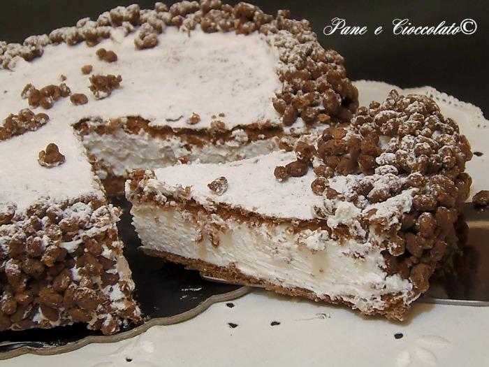 Cheesecake al Riso Soffiato e Nutella