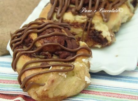 Cinnamon Roll alla nutella