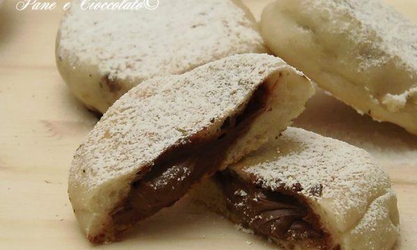 Focaccine alla Nutella cottura in padella