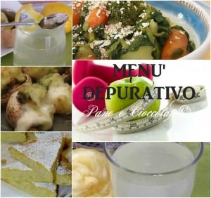 menu depurativo