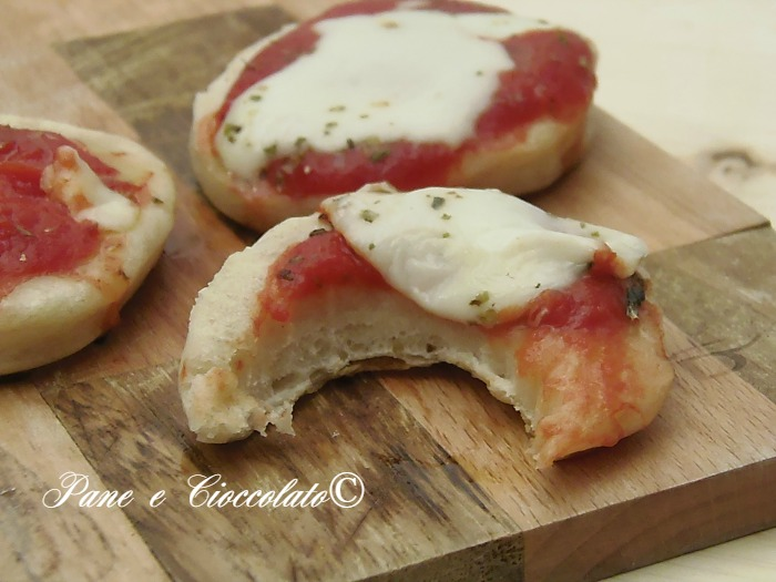 Pizzette da Buffet cotte in padella