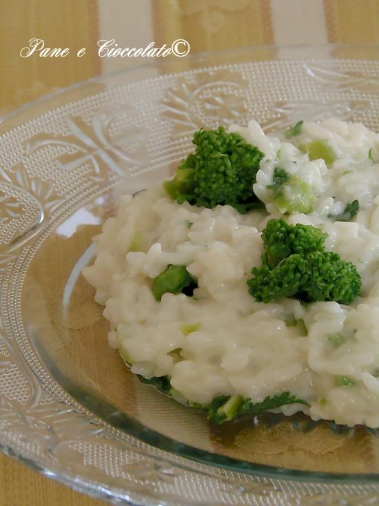 Riso cremoso con i broccoli