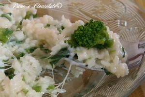 Riso cremoso con i broccoli Broccoli Rice Casserole