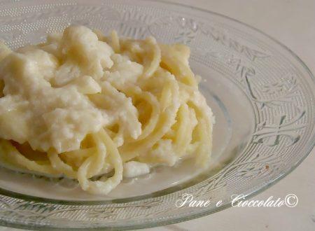 Spaghetti Alfredo versione sana Healthy Fettuccine Alfredo