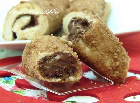 Nutella Roll con copertura croccante 7 minuti