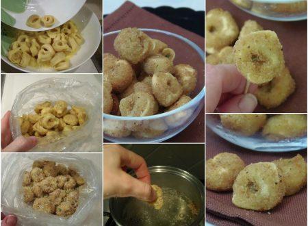Tortellini fritti al parmigiano