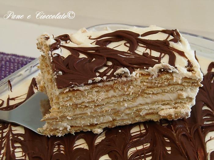 Ricetta torta biscotti e nutella