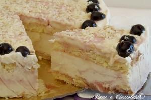 Torta Spagnola al cioccolato bianco versione Fredda