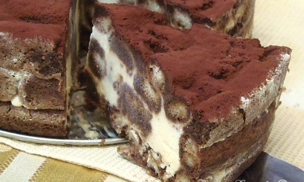 Torta Tiramisu versione fredda
