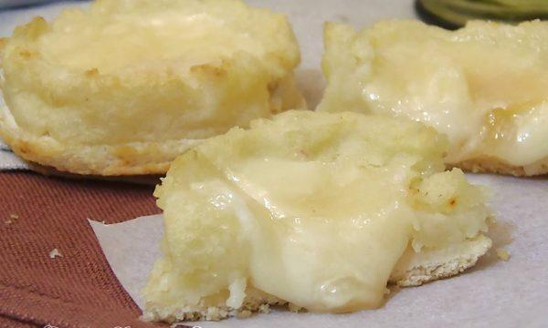 Cestini di Patate e mozzarella