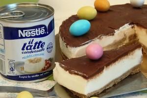 Cheesecake Biancolatte al Latte condensato