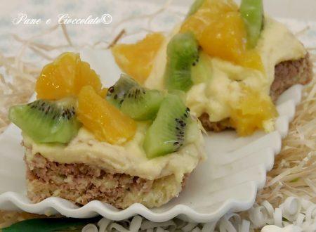 Crostatine Biscotto alla Frutta e crema