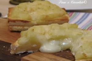 Patate e tramezzini cuore caldo