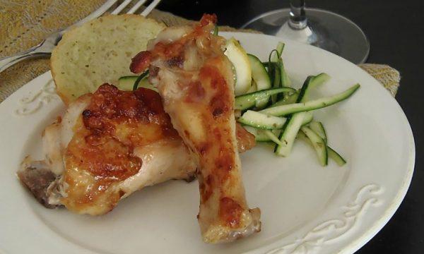 Pollo arrosto cottura senza olio