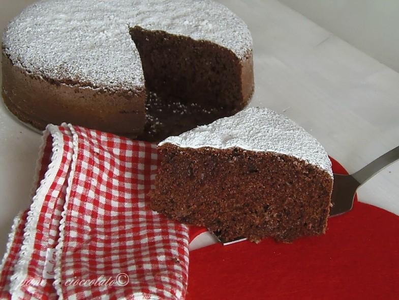 Pan di Spagna al cioccolato ricetta base
