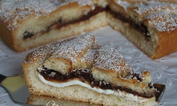 Crostata Morbida nutella e philadelphia