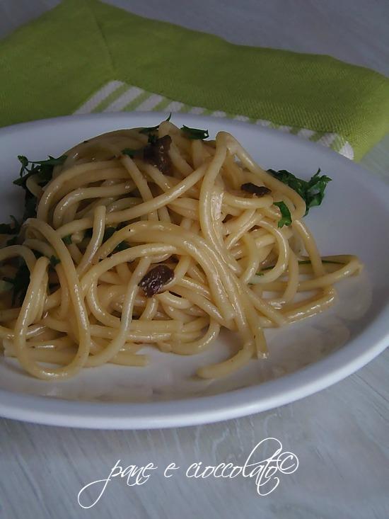 Spaghetti alle vongole senza vongole