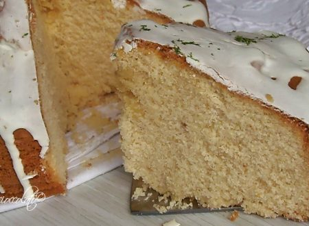 TORTA YOGURT E LIMONE GLASSATA