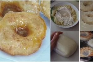 Ciambelle di patate dolci