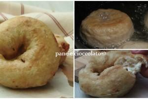 Ciambelle di patate pomodoro e philadelphia