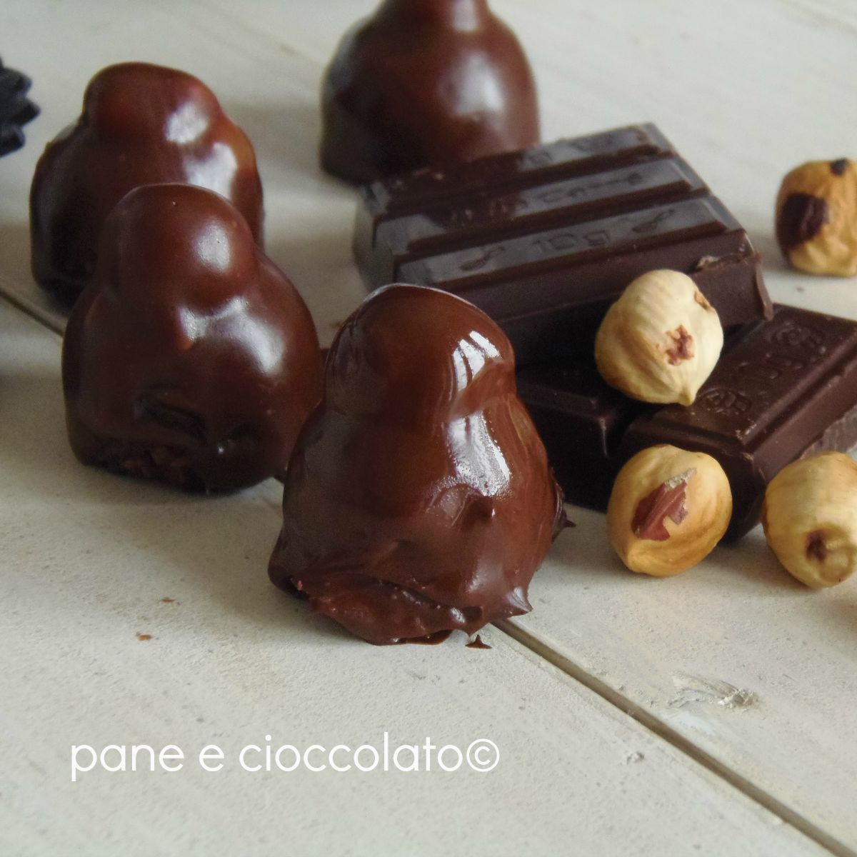 cioccolatini con nocciola