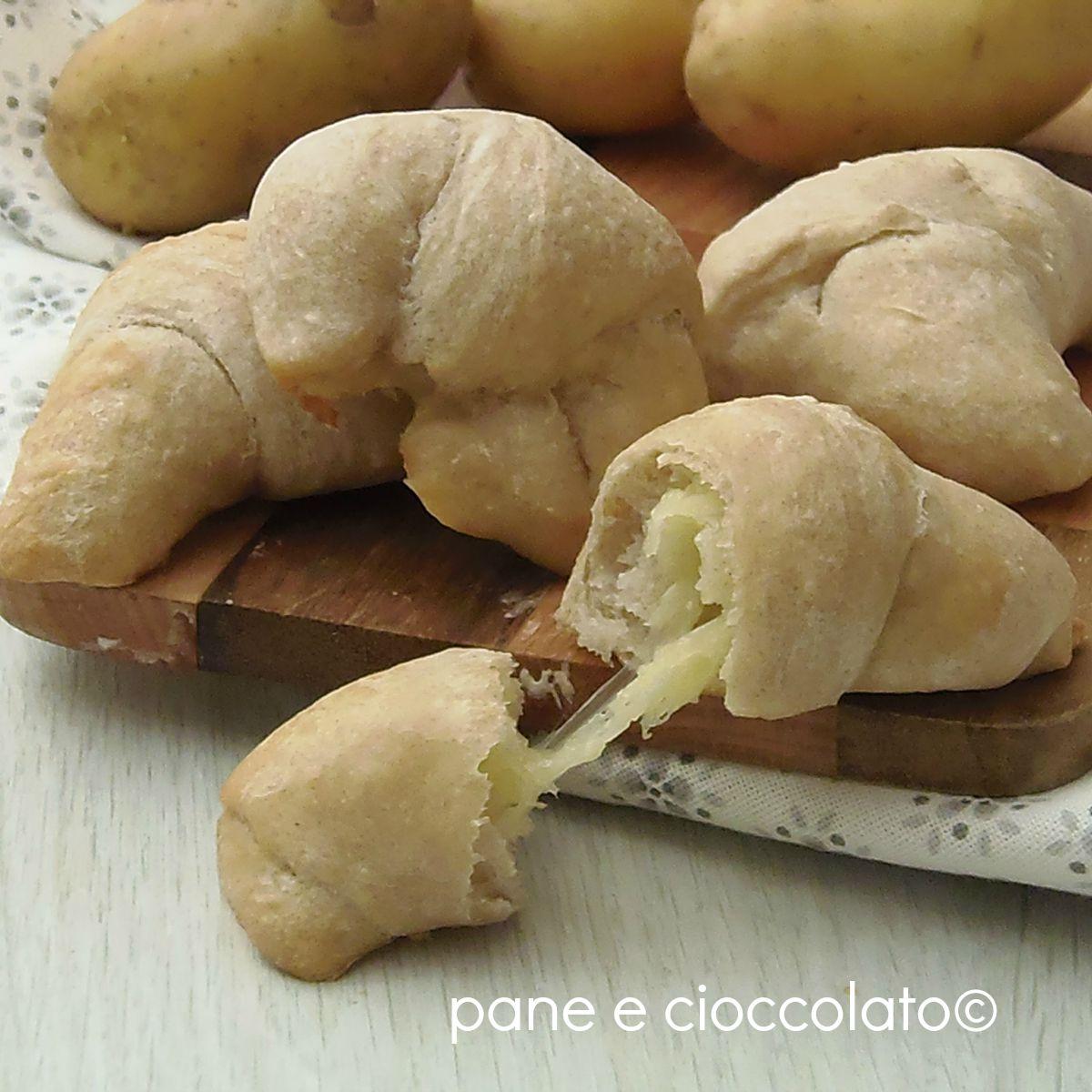 Cornetti Impasto Patate al Forno