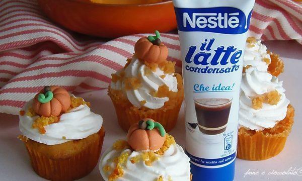 Cupcake alle Carote e latte condensato