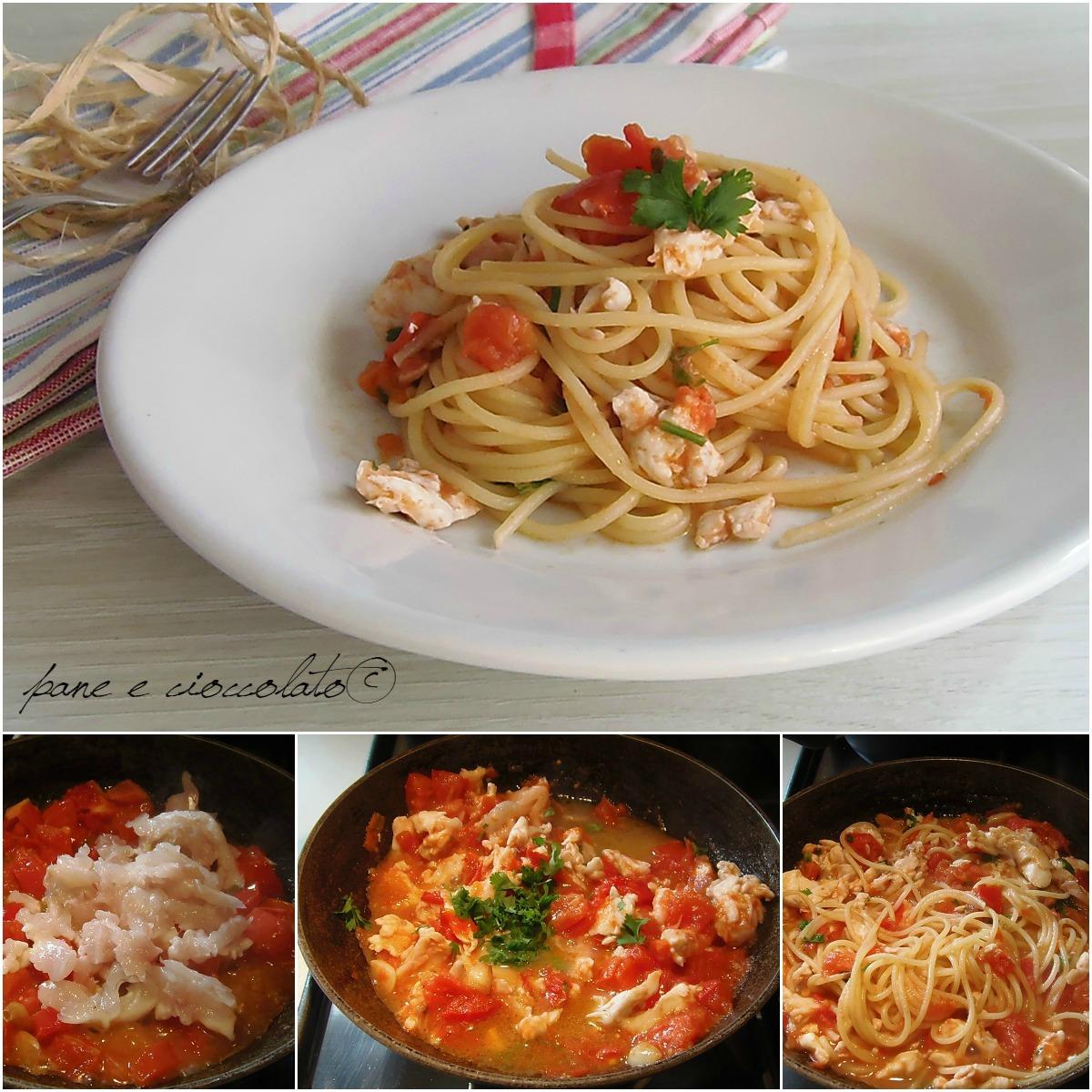 pomodori collage spaghetti