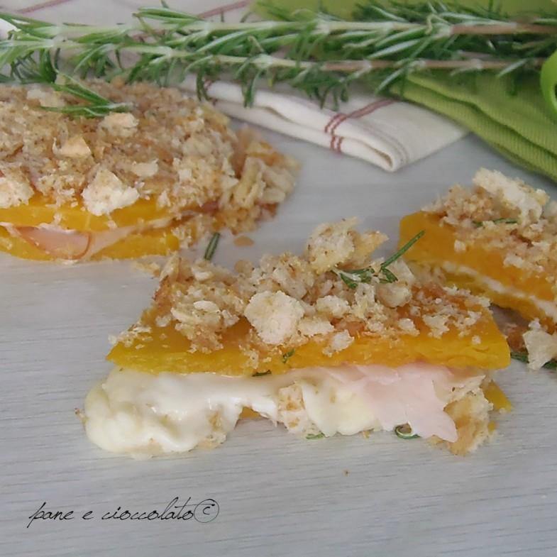 Toast di zucca croccanti e farciti
