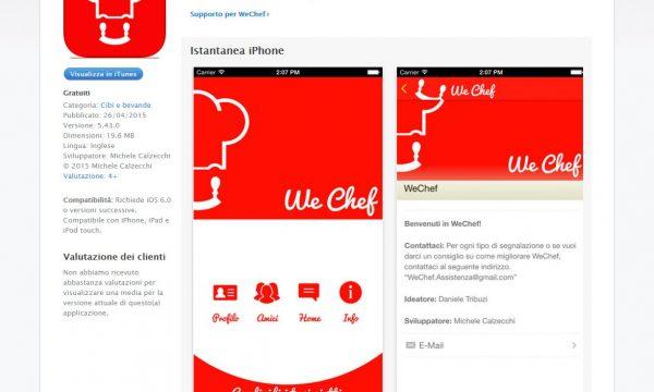 Wechef l applicazione ideale per le foodblogger