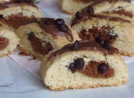 Biscotti cuore di cioccolato