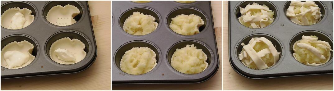 Cestini di patate e stracchino