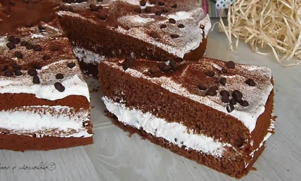 Torta Cioccolato e Chantilly
