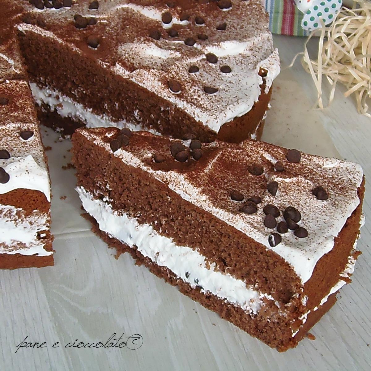 Torta Cioccolato e Chantilly