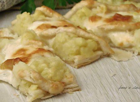 Schiacciata alle patate senza lievitazione