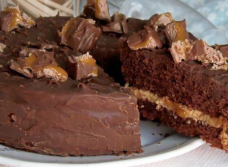 Torta Cioccolato e Crema Mou