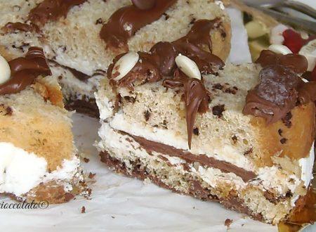 Torta Panettone e nutella