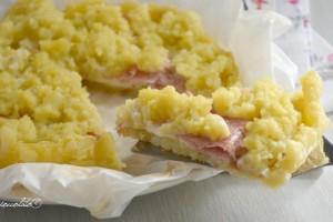 Sbriciolata di patate in padella