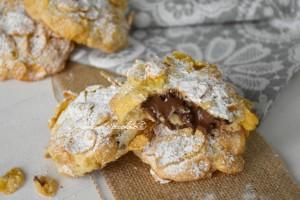 Biscotti croccanti ripieni