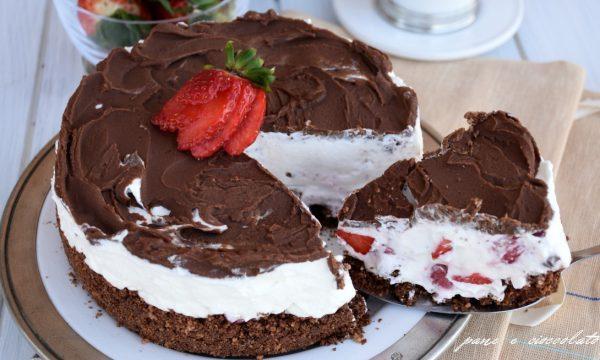 Torta mascarpone e nutella semifreddo