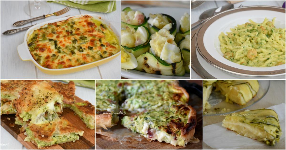 Le 8 ricette con le zucchine non fritte