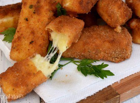 Stick  patate e mozzarella ricetta patate