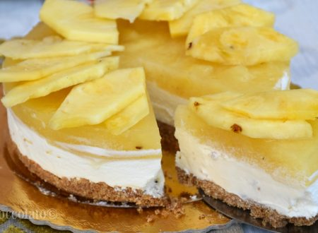 Torta fredda al mascarpone e ananas