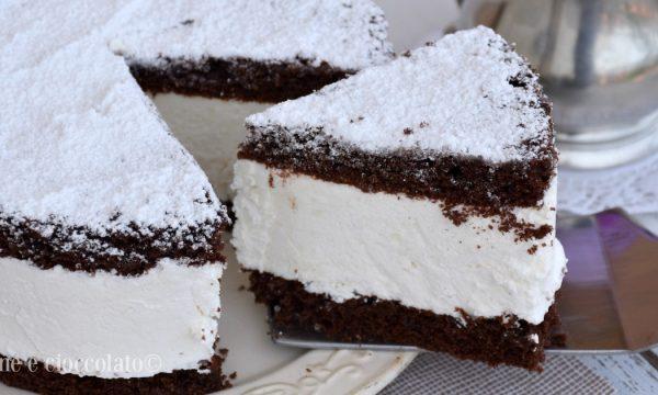 Torta Fiocco di neve al cioccolato torte facili