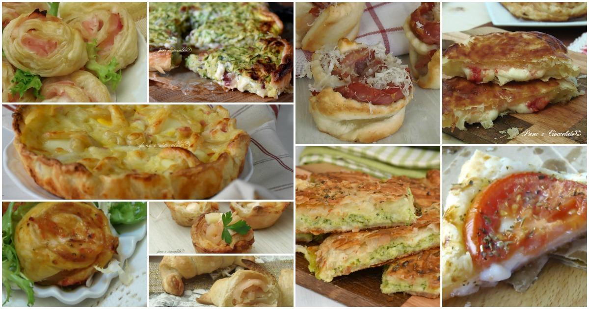 Bien-aimé Antipasti con pasta sfoglia ricette buffet facili e conservabili UQ22