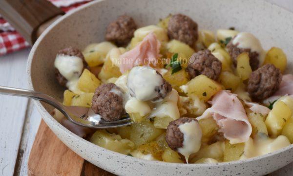 Patate polpette e mozzarella ricetta secondi