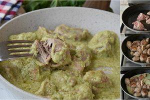 Pollo alla crema di zucchine ricette con il pollo