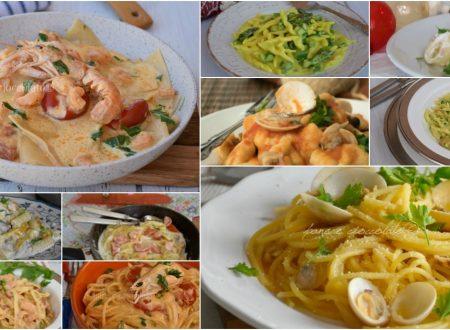 Raccolta Primi piatti con sughi per pasta cremosi