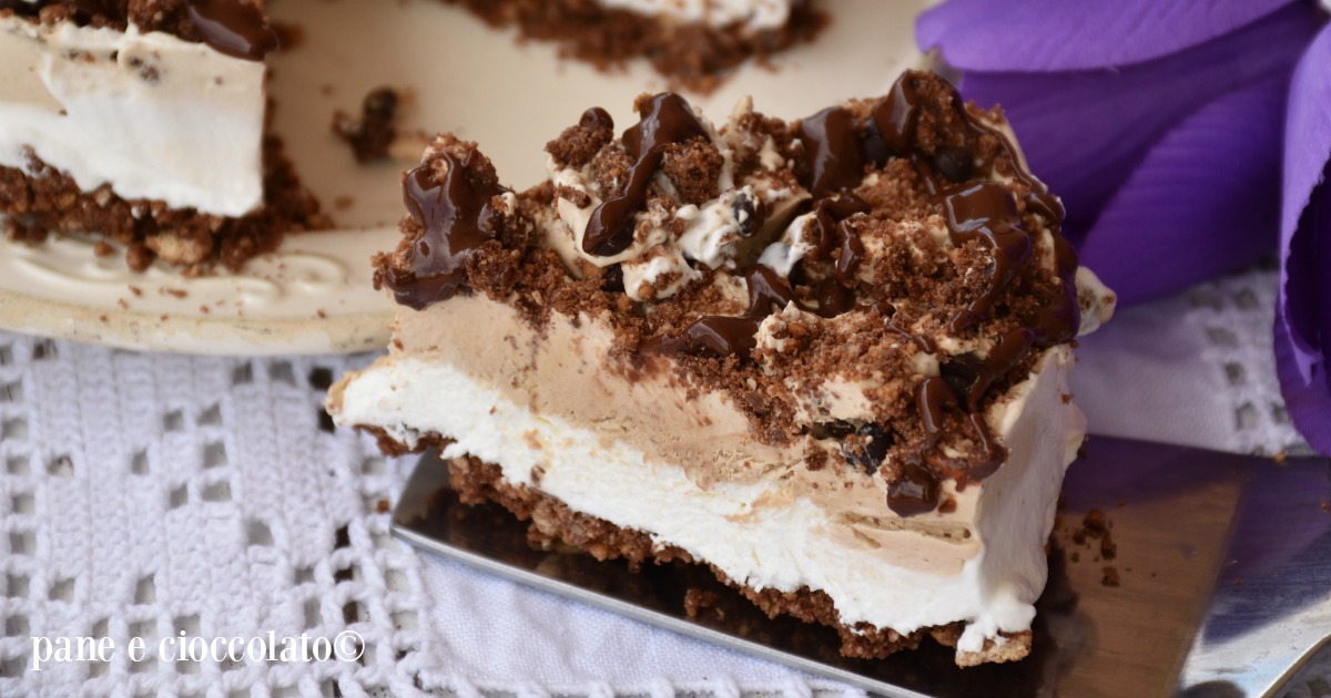 Torta al caffe' versione fredda - Torta Mocaccino