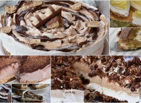 Torte fredde dolci senza cottura